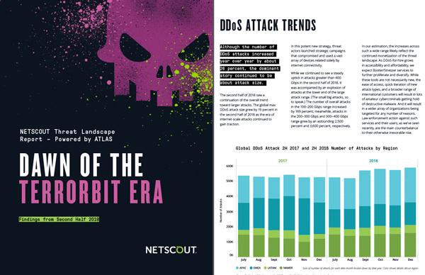 NETSCOUT Highlights Dawn of the Terrorbit Era